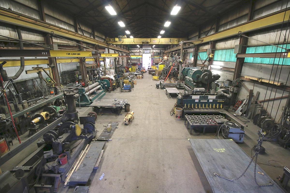 Industrial Metal Fabrication Services Duluth Minnesota Iwm